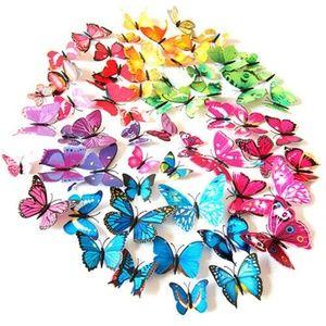 Other - 12Pcs 3D PVC Butterflies DIY Butterfly Art Decal